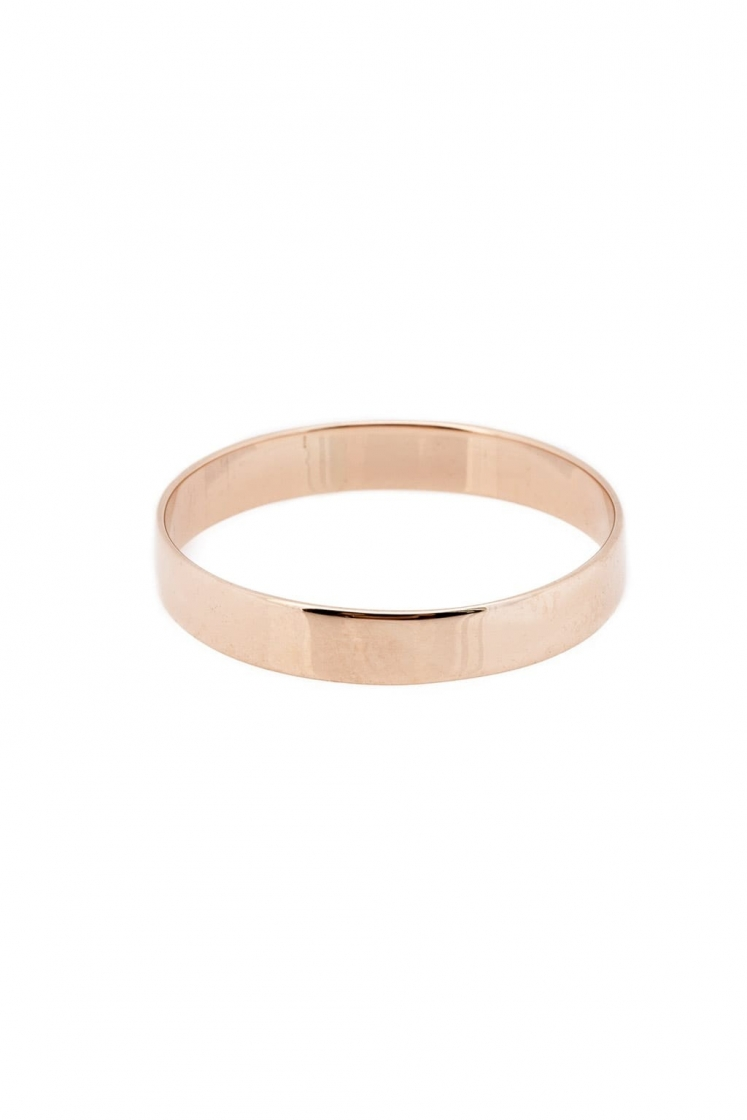 Band gold ring