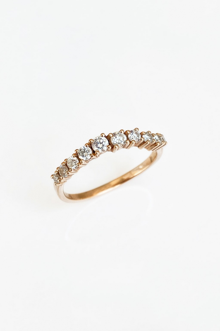 River gold ring