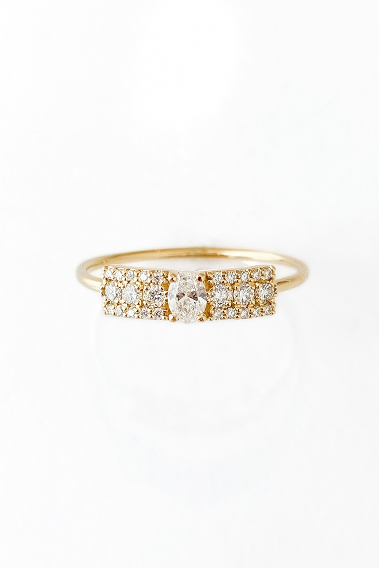 Second Wife yellow gold ring
