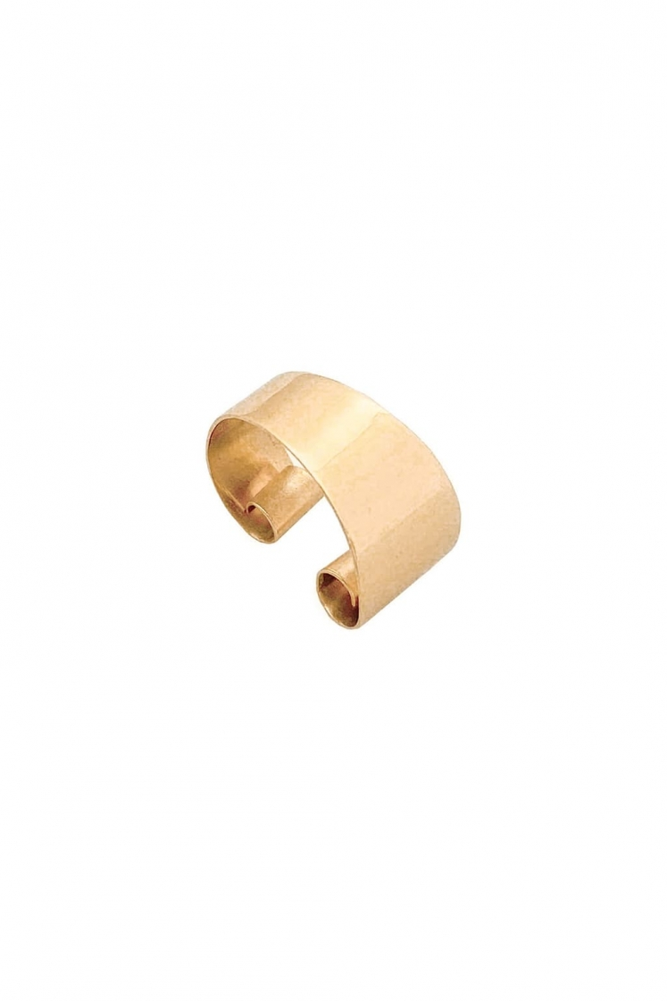 Irregular band gold hugger