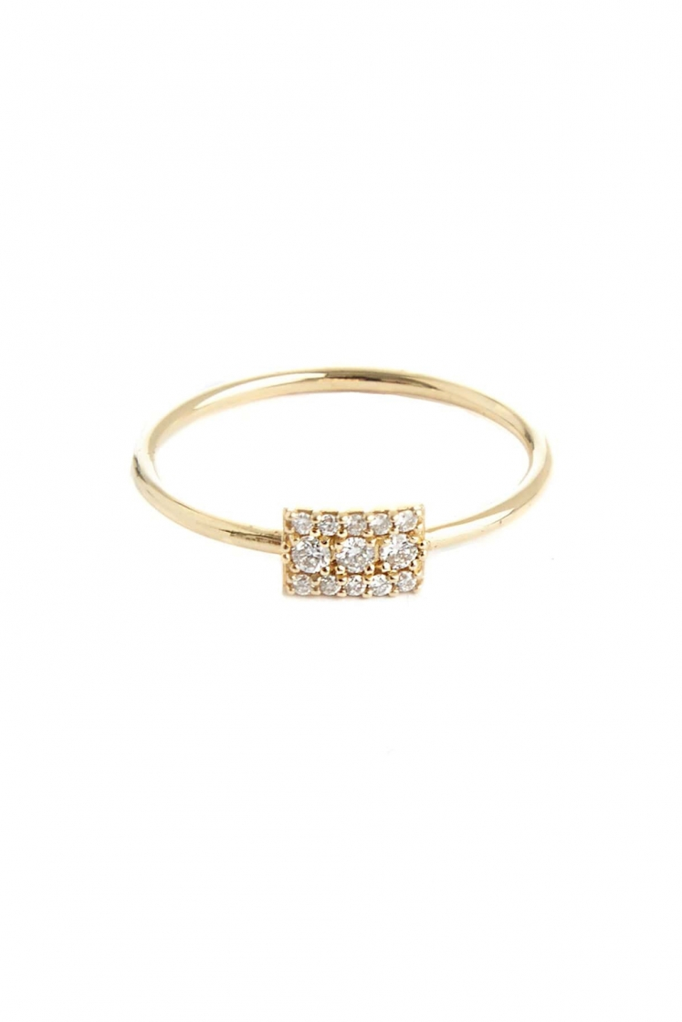 Wife yellow gold ring